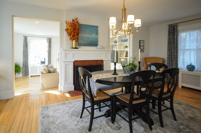 SoPo Cottage Remodel Colonial in Maine AFTER