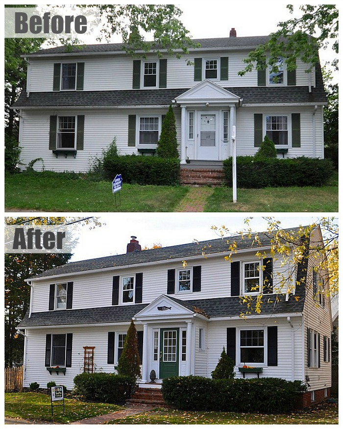 Gracious Grambler Colonial Maine Before and After