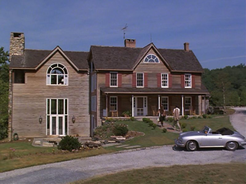 Tom Selleck's house in Her Alibi movie