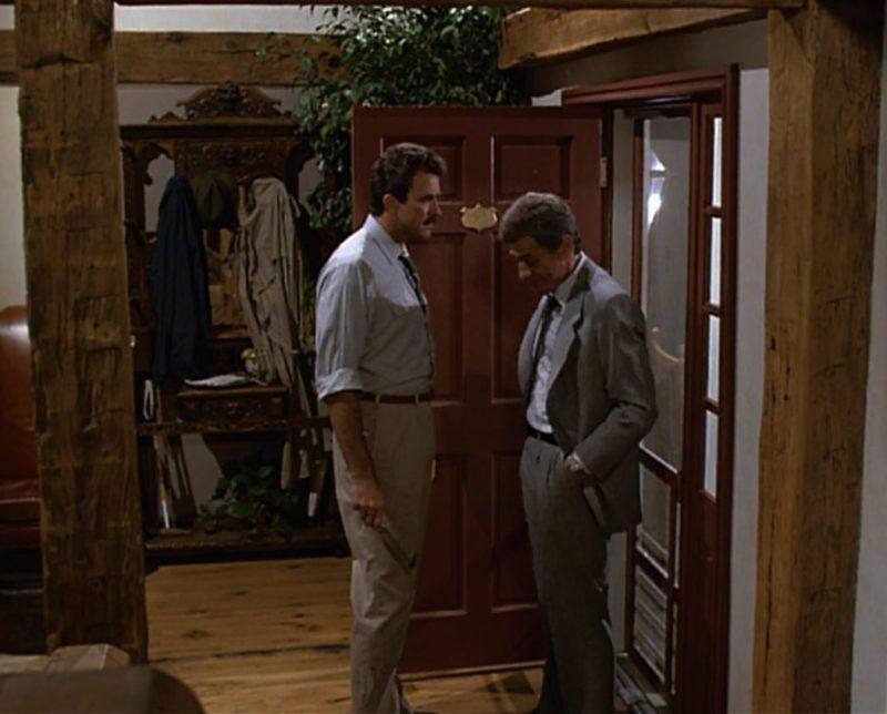 Tom Selleck's house in Her Alibi movie