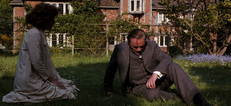 back of house Howards End movie