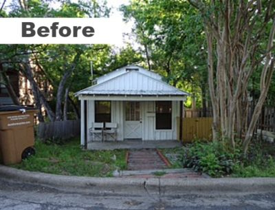 Ave B Cottage BEFORE reno in Austin
