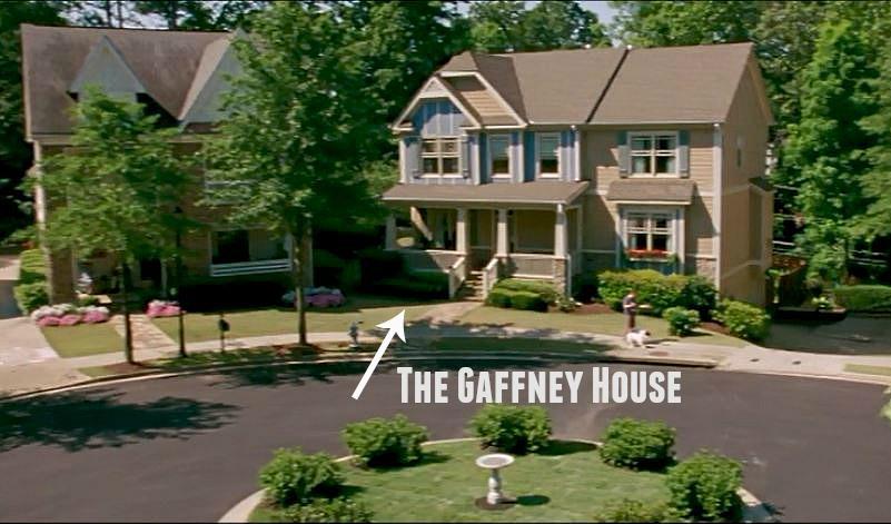 Gaffney House cul-de-sac Keeping Up With Joneses movie