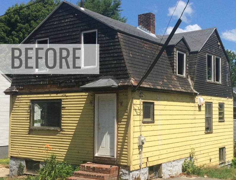 SoPo Cottage Ugly Duckling Makeover Maine