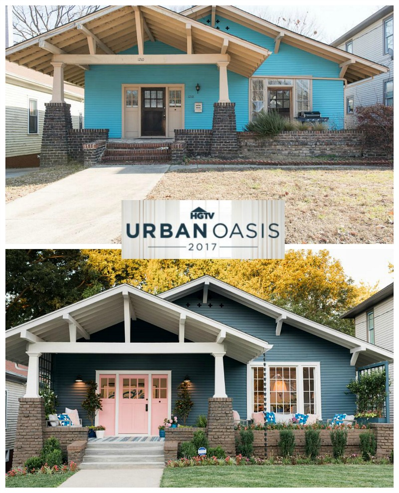 HGTV Urban Oasis 2017 Bungalow Before After