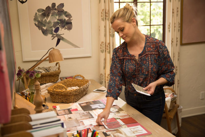 Reese-Witherspoon-Home Again movie desk