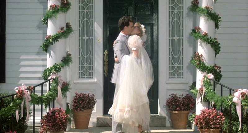 The Money Pit movie Tom Hanks-Shelley Long wedding