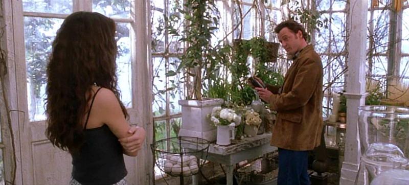 Aidan Quinn in the Greenhouse