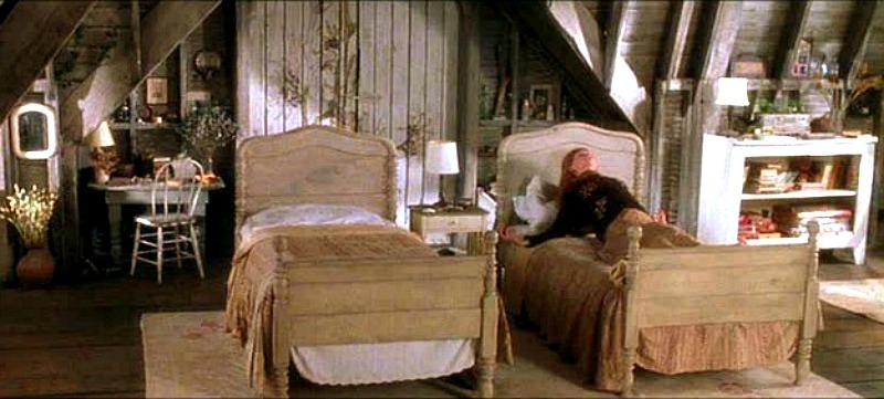 Nicole Kidman Practical Magic Attic Bedroom