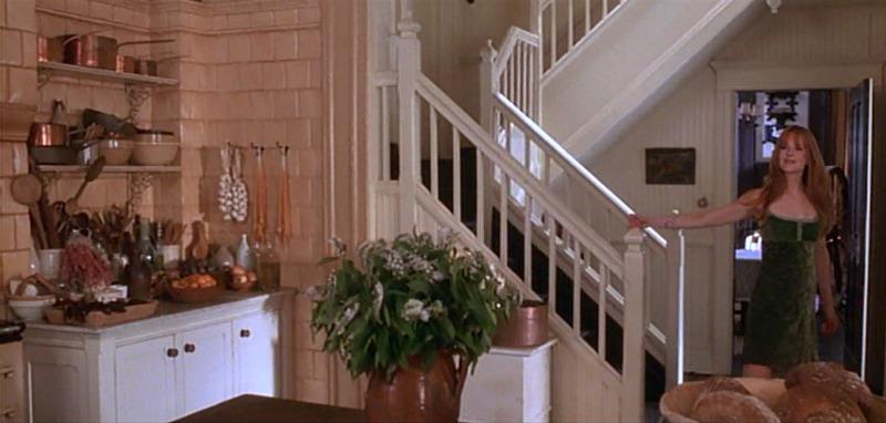 Nicole Kidman Practical Magic Kitchen Staircase