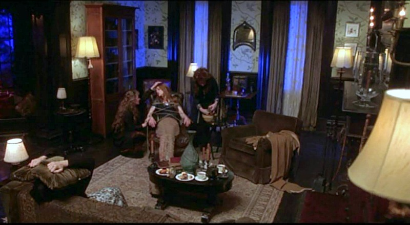 Parlor in Practical Magic House