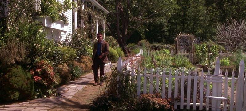 Practical Magic garden fence