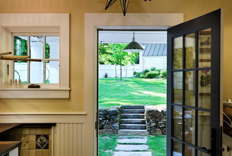 Remodeled Cape Back Door