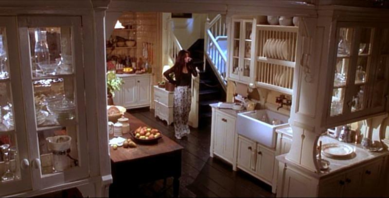 Sandra Bullock in the Practical Magic Kitchen