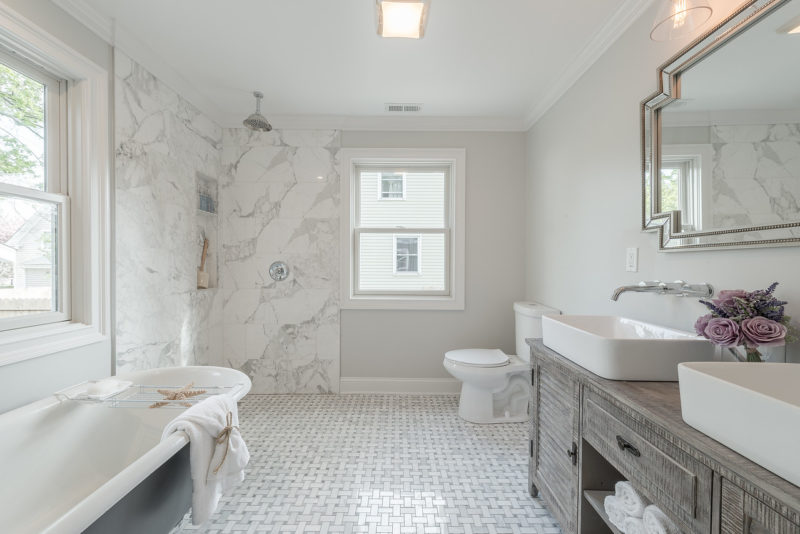 Small Cape Bathroom Remodel Fairfield Connecticut