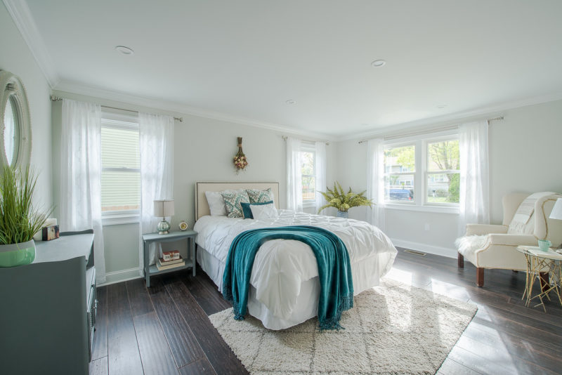 Small Cape Bedroom After Remodel Fairfield Connecticut