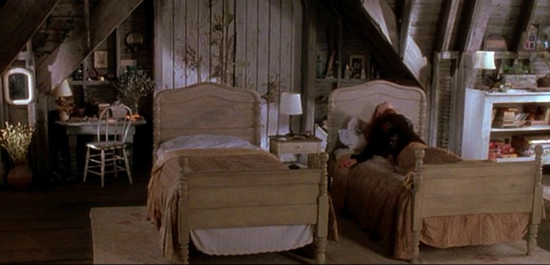 Attic in the Practical Magic house