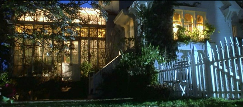 conservatory on side of practical magic house