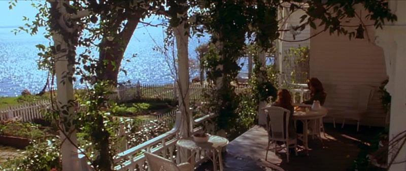 porch overlooking the water Practical Magic