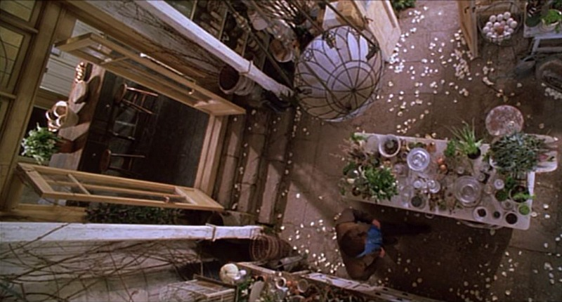 practical magic greenhouse overhead view