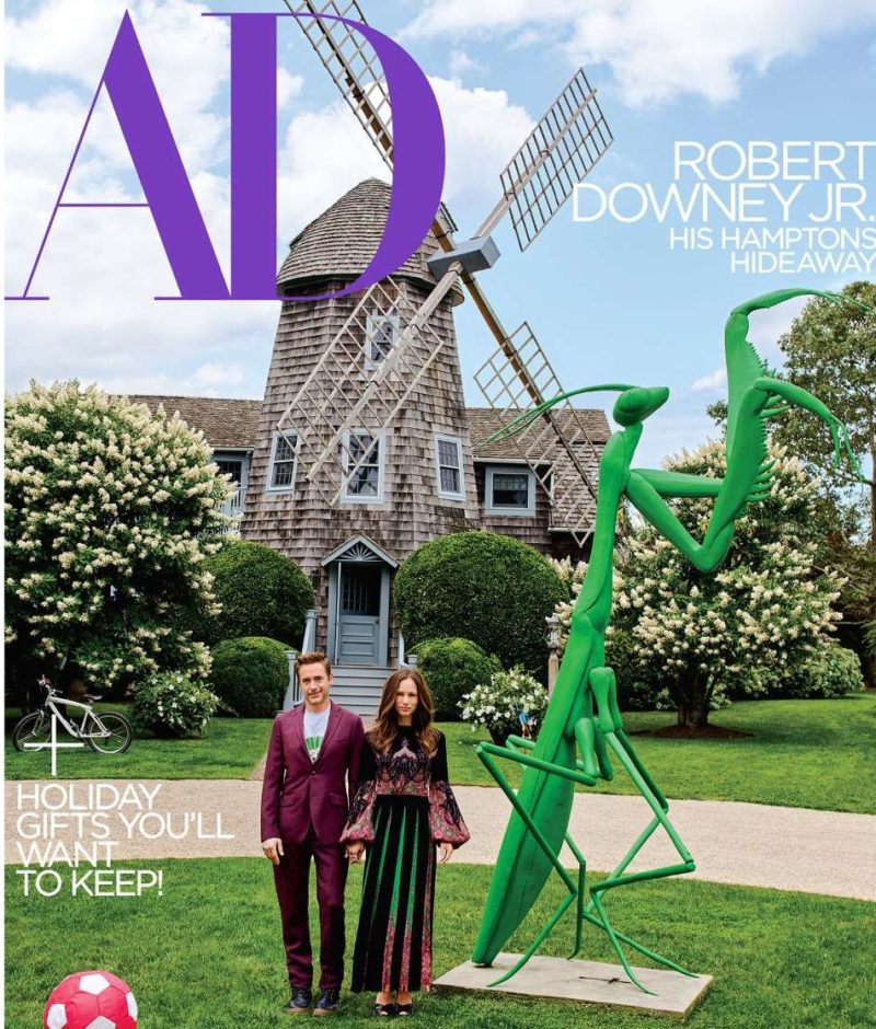 Robert Downey Jr Windmill House Architectural Digest
