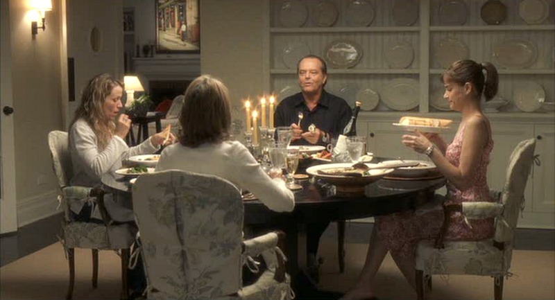 Something's Gotta Give movie beach house dining room