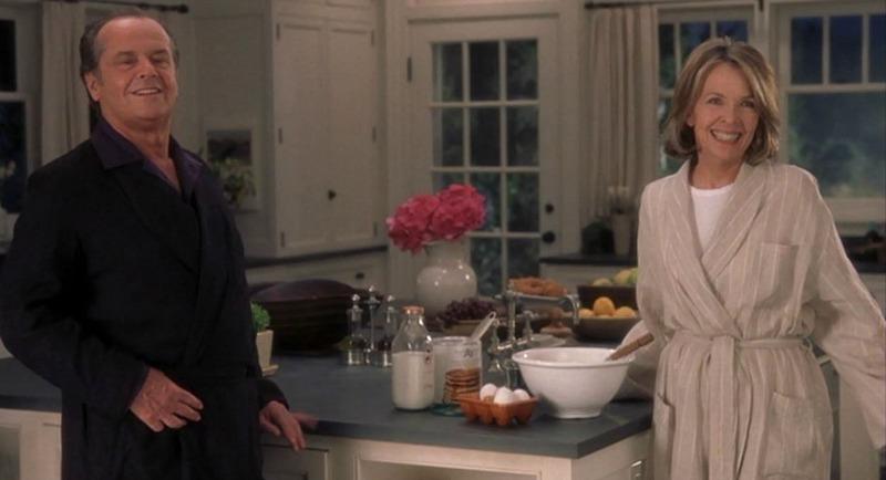 Something's Gotta Give movie beach house kitchen