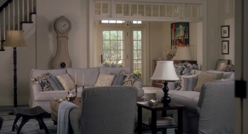 Something's Gotta Give movie beach house living room