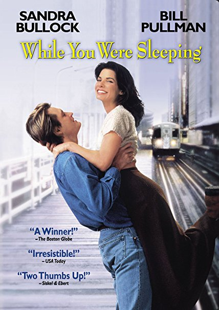 While You Were Sleeping movie poster Sandra Bullock