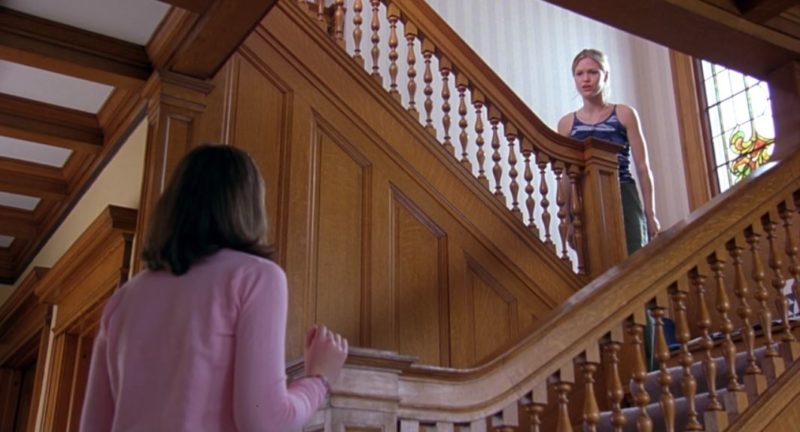 Staircase in 10 Things I Hate About You movie house
