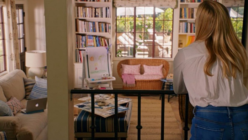 Home Again movie house Alice's home office