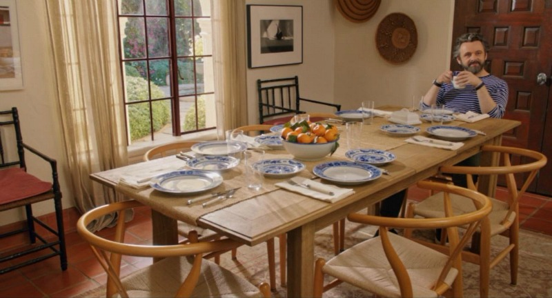 Home Again movie house dining room