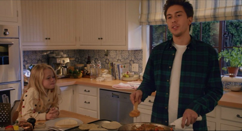 Home Again movie house kitchen