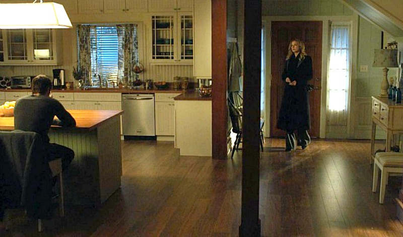 wide shot of Emily's kitchen and entry-Revenge