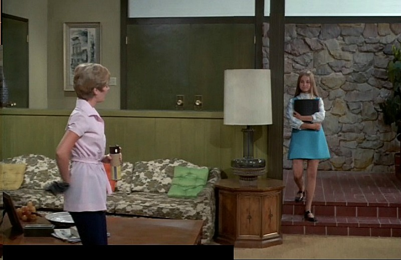 Brady Bunch Entry Living Room Marcia