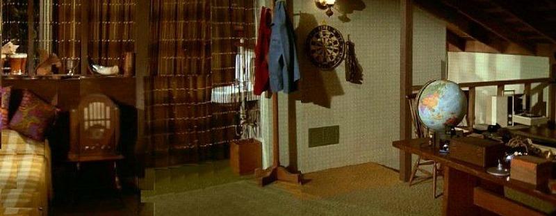 Brady Bunch Greg's Attic Room
