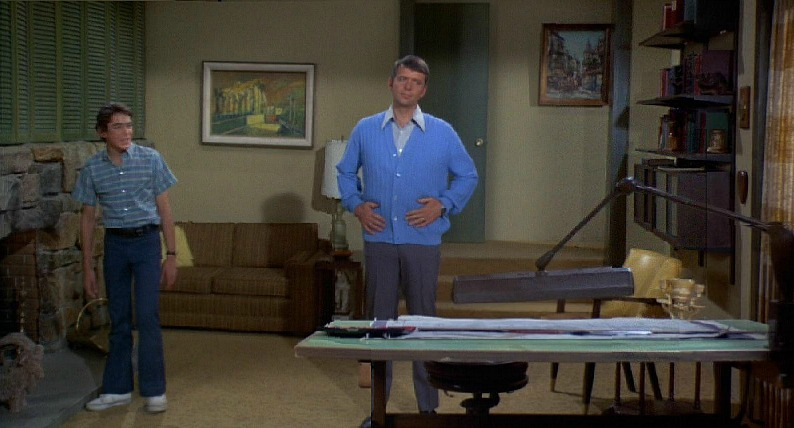 Brady Bunch Mike's Den Home Office SSN2