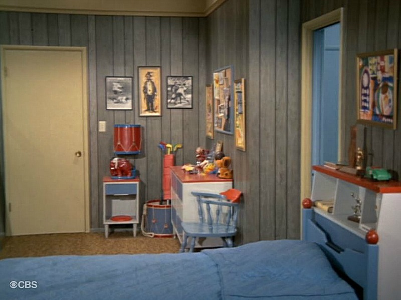 Brady Bunch boys bedroom Season 5