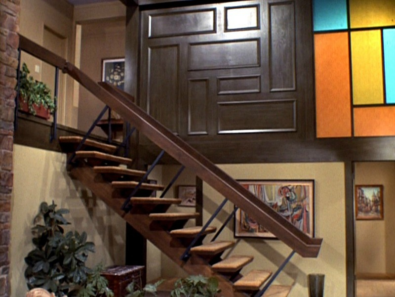 The Brady Bunch Staircase