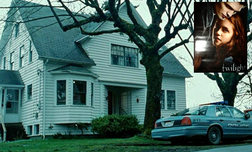 Bella Swan's House in Twilight movie featured