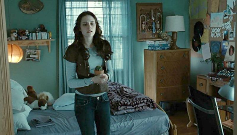 Kristen Stewart Twilight movie bedroom