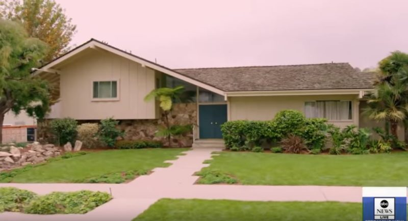 Brady Bunch House After HGTV Renovation 2019