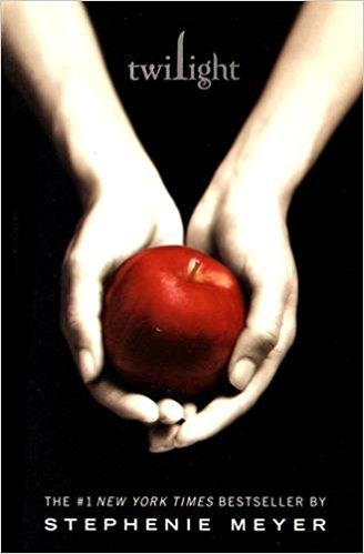 Stephenie Meyer Twilight novel cover