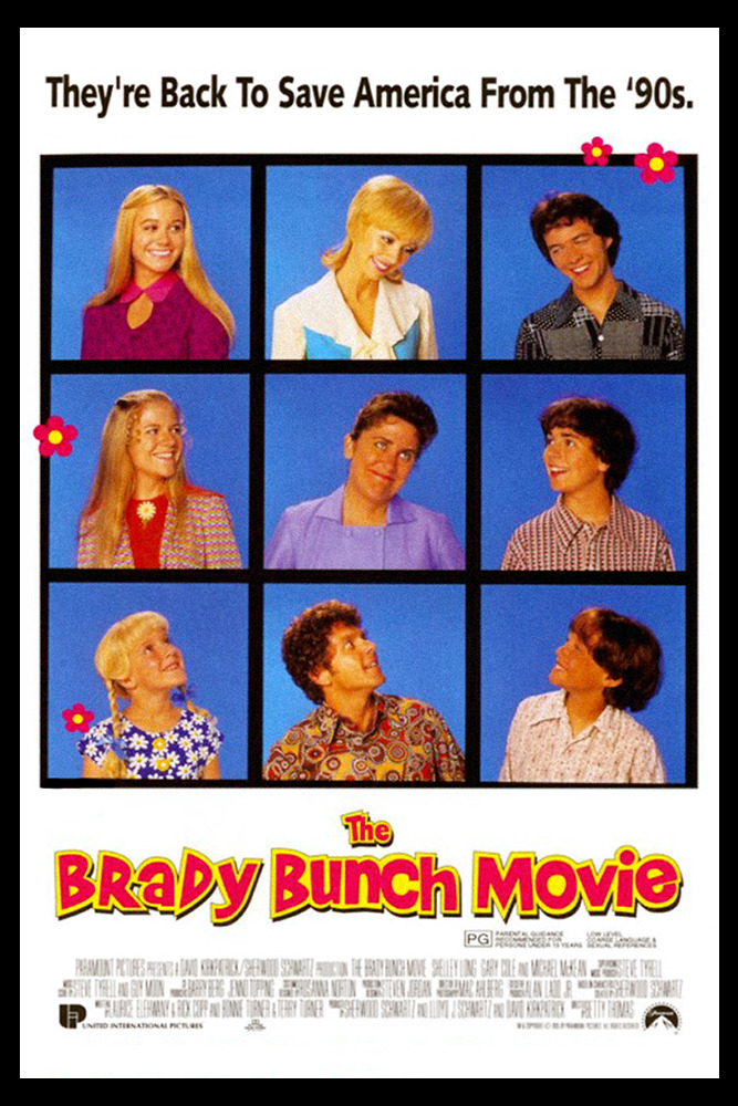 The Brady Bunch Movie Poster 1995