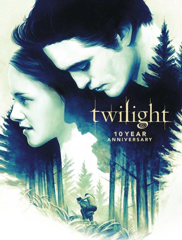 Twilight 10 Year Anniversary Poster