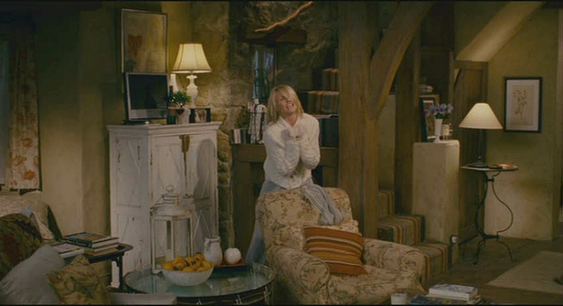 Cameron Diaz cottage living room Holiday