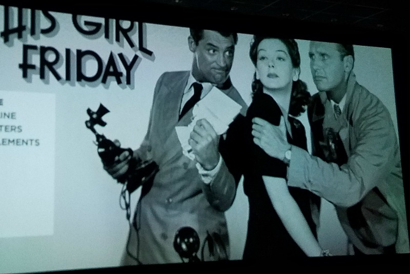 His Girl Friday opening credits