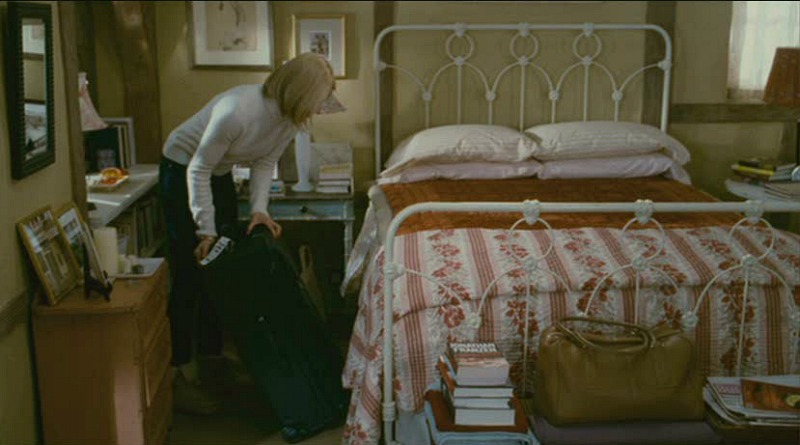 Rosehill Cottage bedroom The Holiday movie