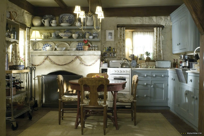Rosehill Cottage kitchen in The Holiday