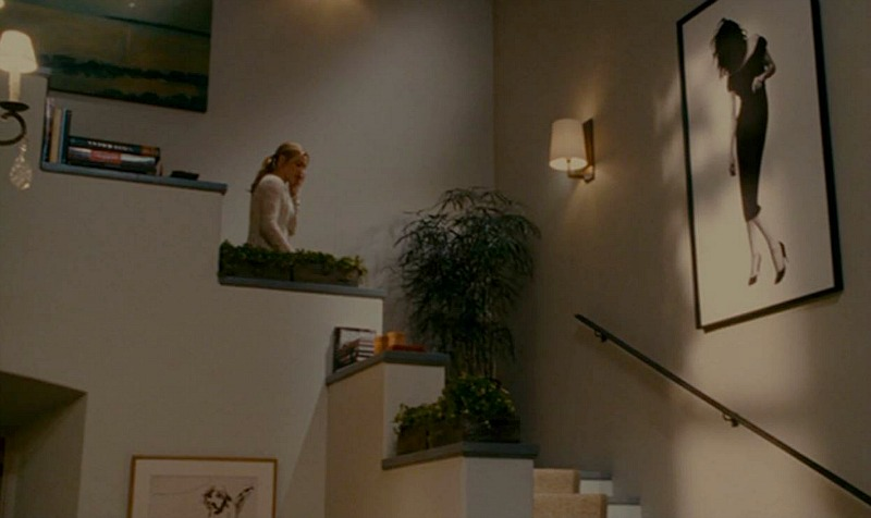 The Holiday movie Amanda's house staircase